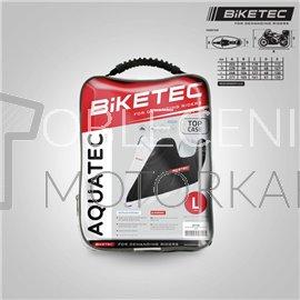 Moto plachta Biketec Aquatec s prostorem na kufr vel S