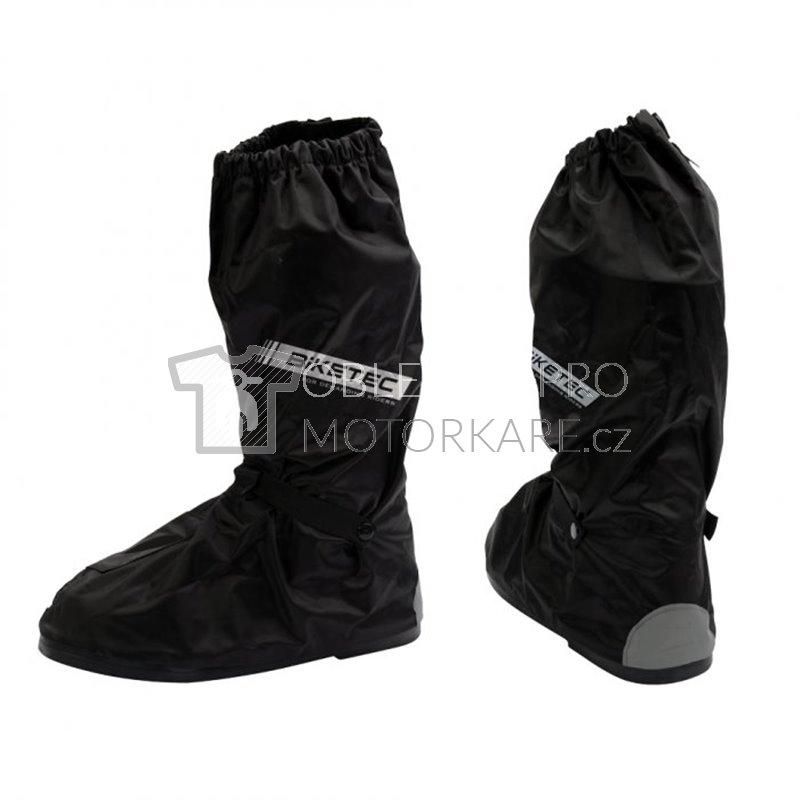 Návleky na boty do deště Biketec černé s podrážkou 2d10dbb1b9