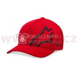Kšiltovka CORP SHIFT SONIC TECH HAT, ALPINESTARS (červená/černá)