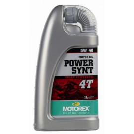 Motorex Power Synt 4T 5W40 1L