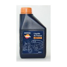 Repsol Moto Brake Fluid DOT 5.1 0,5 L